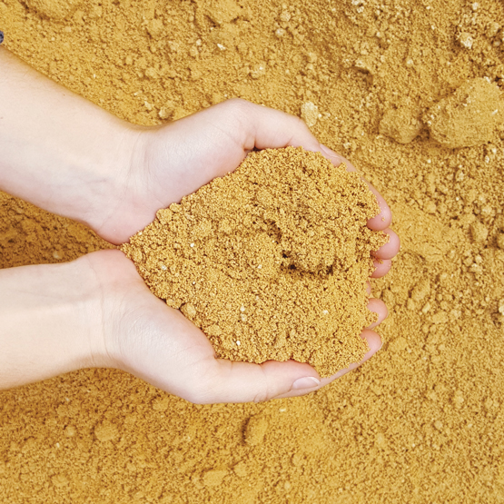 Yellow Brickies Sand--we bag sand in 20kg small bags and 1000kg bulk bags.